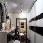 Поворотные софиты на белом потолке
