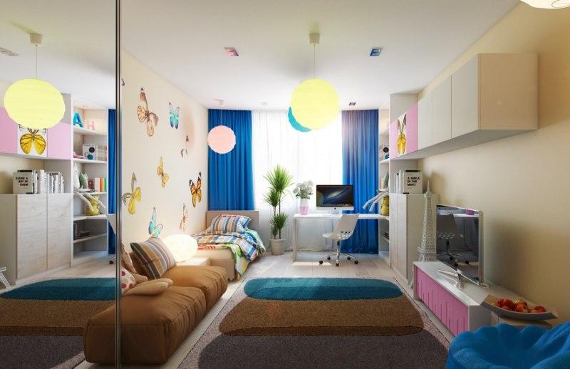 Дизайн комнаты для девочки подросткового возраста
