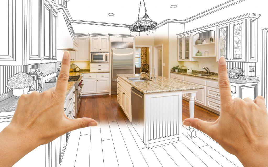Замер размеров кухонного гарнитура своими руками