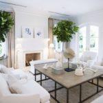 Зеленые растения в декоре гостиной