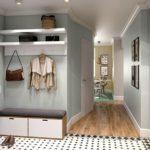 Дизайн прихожей с коридором в квартире