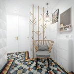 Дизайн коридора нестандартной формы