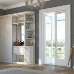 Мебель в прихожей классического стиля