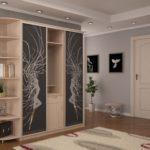 Модульная мебель в интерьере прихожей