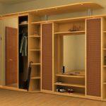 Мебельный гарнитур для большой прихожей