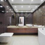 Модная ванная в стиле модерн