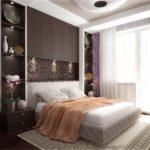 Супружеская спальня в стиле модерн