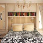 Дизайн классической спальни площадью 10 кв метров