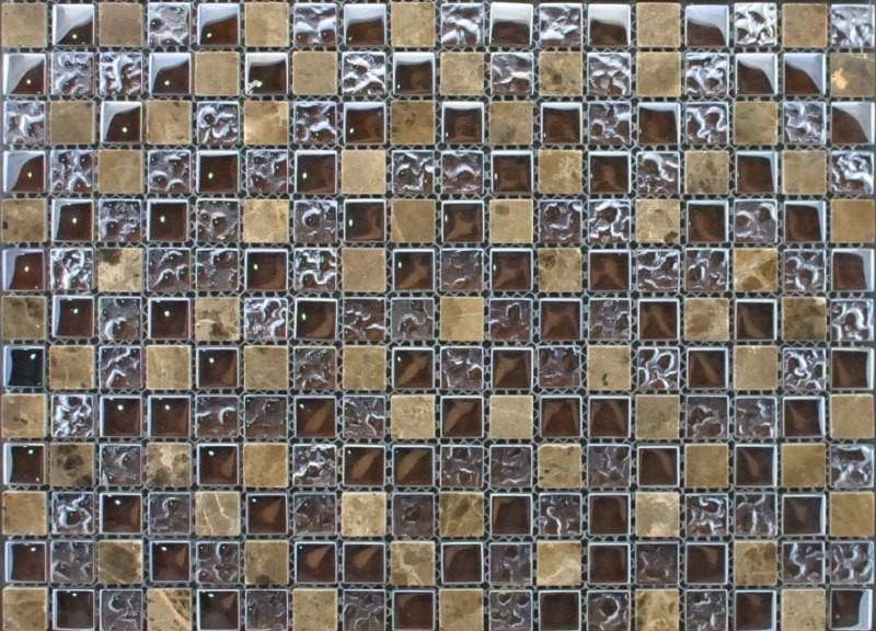 Мозаика из стеклянной плитки для пола
