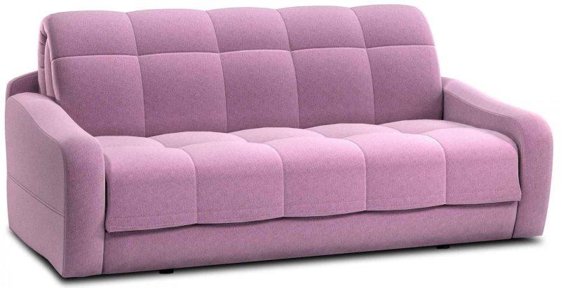 Фиолетовый диван для кухни с обивкой из флока