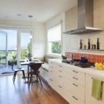 параллельная планировка кухонного пространства