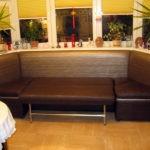 Эркерная модель кухонного дивана