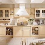 Стеклянные фасады кухонного гарнитура