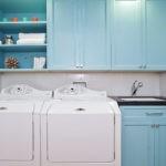Стиральные машины в интерьере кухни