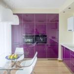 небольшая кухня в стиле минимализма