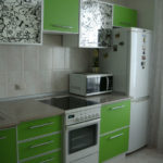Кухонный фартук из кафельной плитки