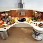 Модная кухня в современном стиле
