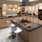 Варочная плита в кухонном острове