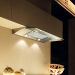 Светодиодная подсветка на вытяжке в кухне