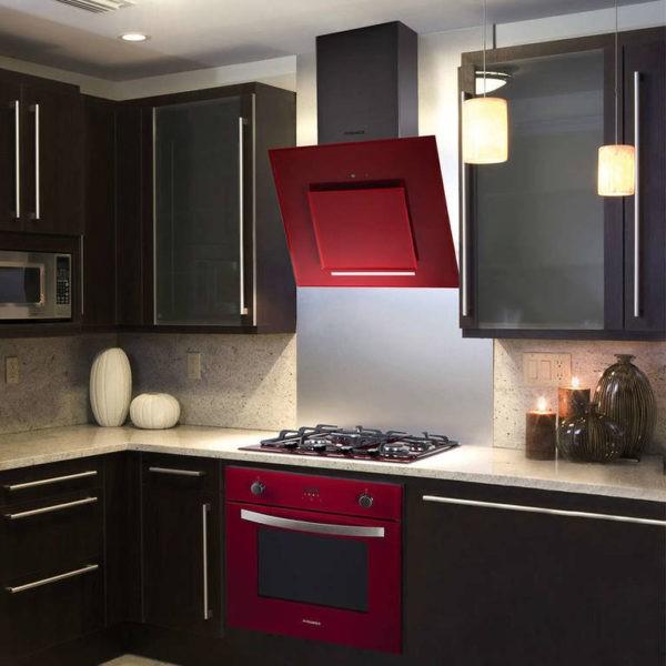 Вятжка и печка - акцент в интерьере кухни