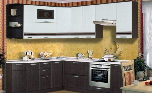 Кухня венге в стиле модерн