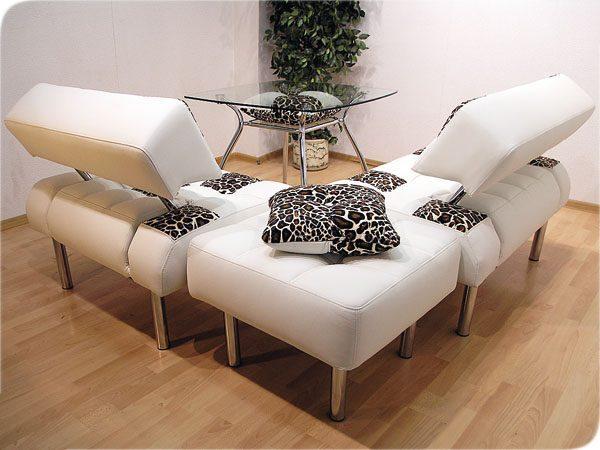 Модульный диван из отдельных частей