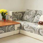 Стильный диван со спальным местом для кухни