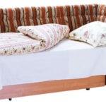 Текстильный диван со спальным местом