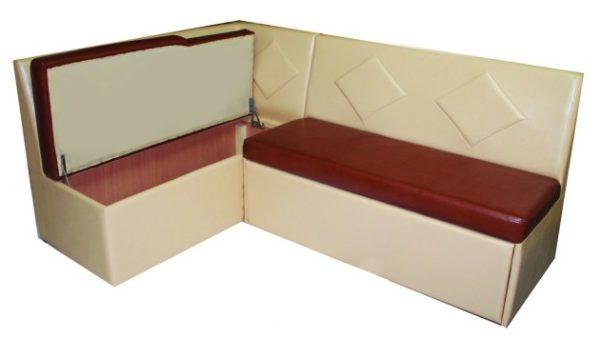 Удобный кухонный угловой диван