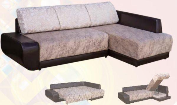 """Угловой диван-кровать """"Пума"""""""