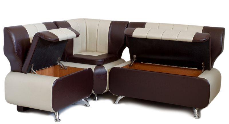 Универсальный диван с подъемными сидениями для современной кухни