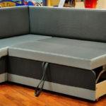 Угловой раскладной диван на кухню