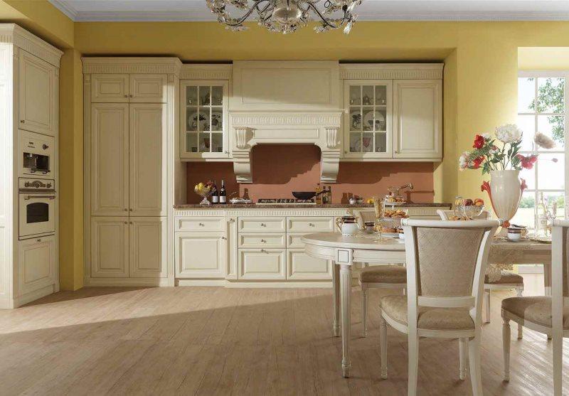 Модная кухня в стиле классики