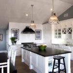 Стеклянные плафоны кухонных светильников