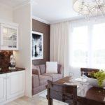 Кухня с выделенным местом для отдыха
