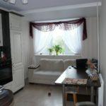Диван со спальным местом в кухне панельного дома