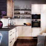 Дизайн небольшой и уютной светлой кухни