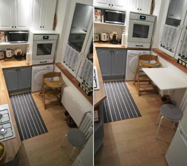 Откидной столик для кухни