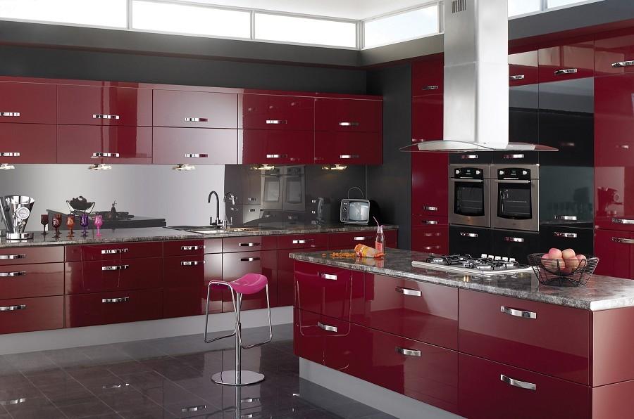 натуры свет дизайн кухни бело бордового цвета фото описанию структуры
