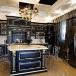 Классическая мебель черного цвета