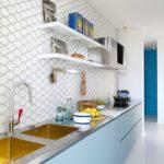 Обустройство кухни без навесных шкафов