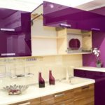Кухонный гарнитур с подъемной дверкой