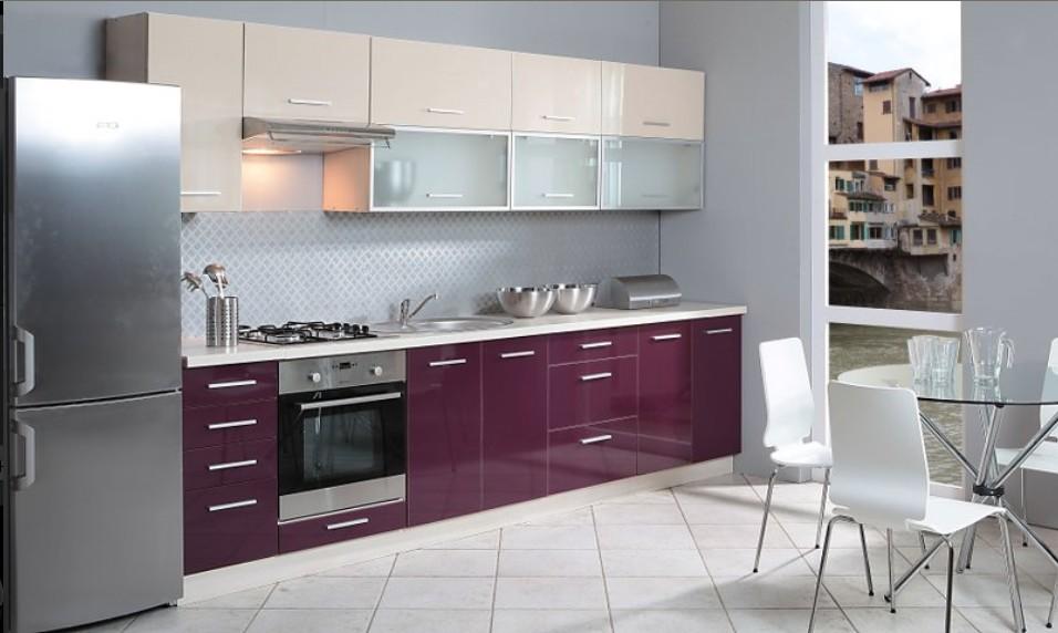 кухня фиолетовый низ белый верх фото найти чистую лечебную