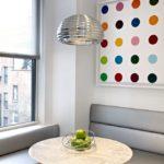 Кухонный углок в кухне современного стиля