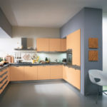 Интерьер кухни в серых оттенках