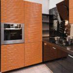 Встроенный духовой шкаф в современной кухне