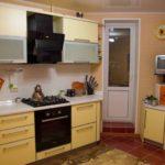 интерьер кухни нестандартной формы