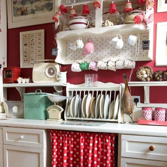Красный кантри на кухне