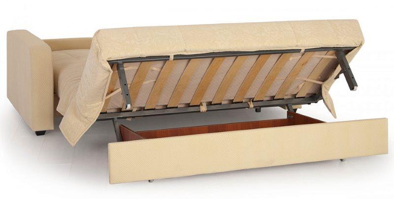 Раскладной диван на каркасе из профильных труб