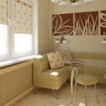 Мягкий угловой диван на кухню со спальным местом